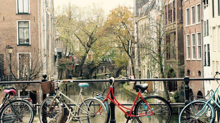 Grachtenpand in Utrecht