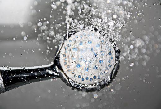 Waterbesparende douchekop