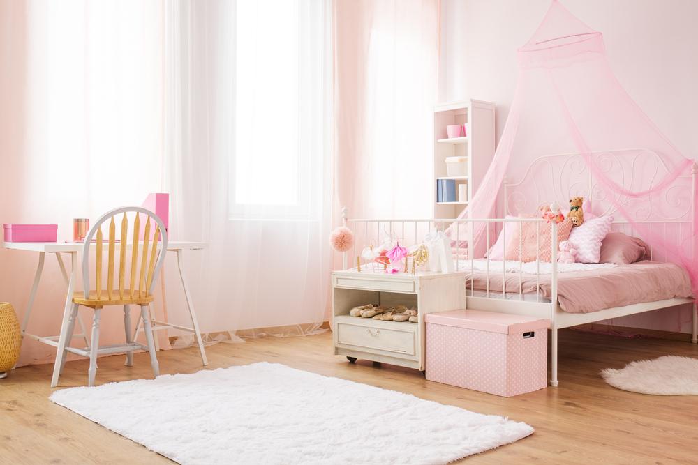 Meisjeskamer gordijnen